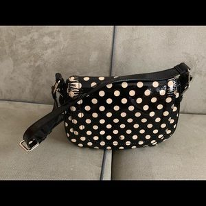 A Polka Dot Black and White Kate Spade purse